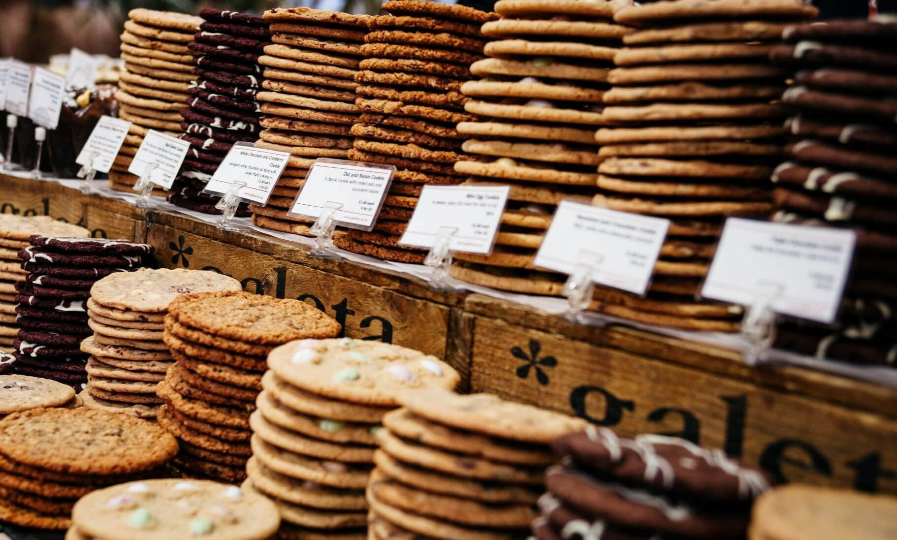 Track and understand customers' shopping habits using cookies
